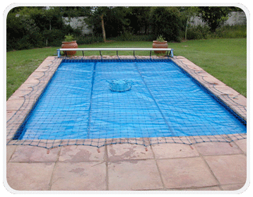 Swimming Pool Roll-up Cover Safety Net