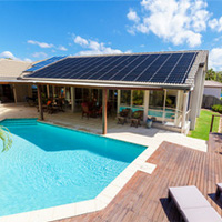 We supply Solar Pool Heating Systems